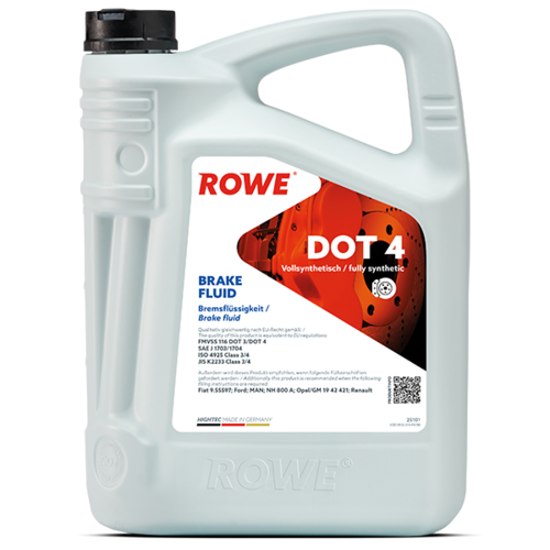 ROWE HIGHTEC BRAKE FLUID DOT 4 5L