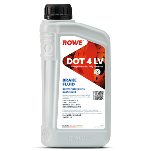ROWE HIGHTEC BRAKE FLUID DOT 4 LV 1L